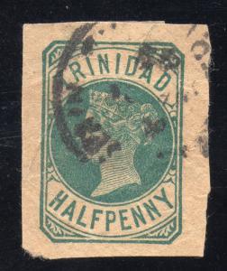 Trinidad Cut Postal Wrapper Sc #HG-E1