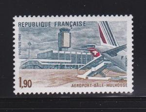 France 1824 Set MNH Bale-Mulhouse Airport Opening