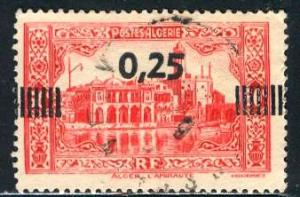 Algeria; 1938; Sc. # 122; O/Used Cpl. Set