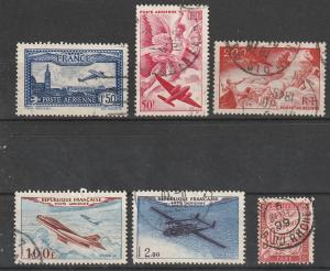 C8,C19,C21,C29,C30,J34 France BOB Air Mail & Postage Due