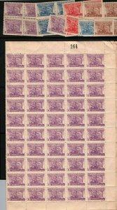 Uruguay 1943 CLIO Greek mythology Kleio muse History Art Deco stamps block sheet