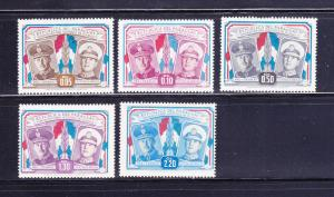 Paraguay 486-490 Set MHR Presidents