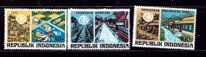 Indonesia 965-67 MH 1976 set