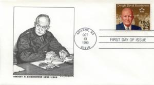 1990 Dwight Eisenhower Centenary (Scott 2513)  DeSpain #5