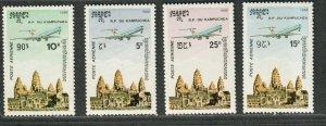 Cambodia Sc#c59-c62 M/NH/VF, Cv. $40