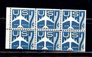 U.S. C51a MNH 1958 Booklet Pane