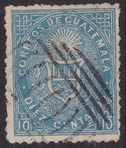 GUATEMALA An old forgery of a classic stamp.................................3096
