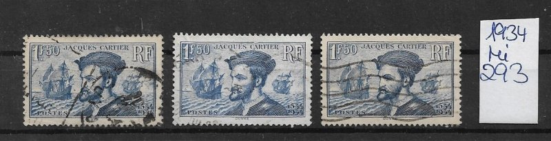 France used  1931 293   offers accepted