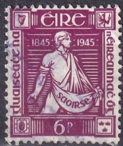Ireland #132  F-VF Used CV $6.75  (Z4133)