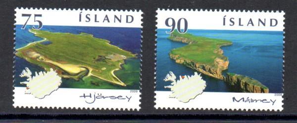 Iceland Sc  1158-9 2009 Islands stamp set mint NH