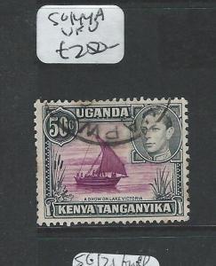 KENYA UGANDA TANGANYIKA (P2407B) KGVI  SG 144A  VFU