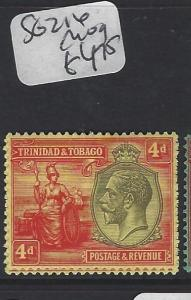 TRINIDAD AND TOBAGO  (PP2005B)  KGV  4D  SG 216   MOG