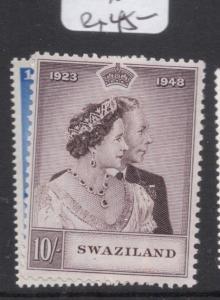 Swaziland SG 46-7 Royal Wedding MNH (1dfe)