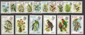 FIJI SG435/50 1971 BIRDS & FLOWERS MNH