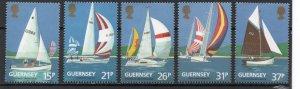 Guernsey 459-463 MNH