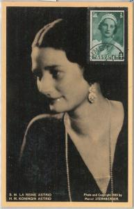 57022 - BELGIUM - POSTAL HISTORY: MAXIMUM CARD 1947 - ROYALTY