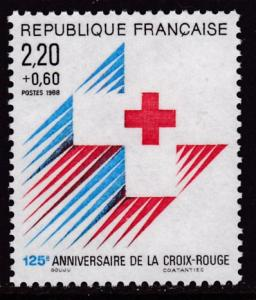France 1988 Scott B601 Red Cross Anniversary VF/NH