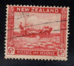 New Zealand Scott 193 Used 1935 stamp wmk 61, CV$11, few small bends