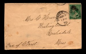1890 Denver Co. Cover  - L11728