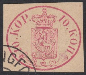 FINLAND  An old forgery of a classic stamp..................................C358