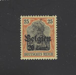 Belgium -  German Occupation WWI