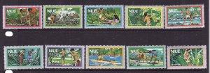 D3-Niue-Scott#222-31-Unused NH set-Fishing-Harvesting-1978-