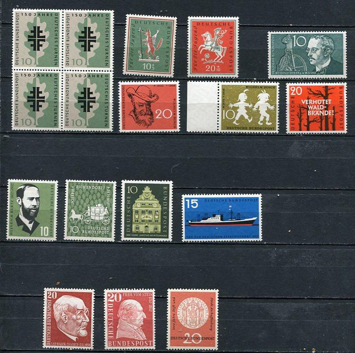 Germany 1957-8 Accumulation MNH/MH3703