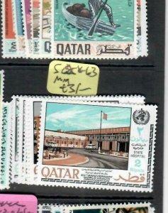 QATAR (P2708B)   UNITED NATIONS    SG 258-263   MOG