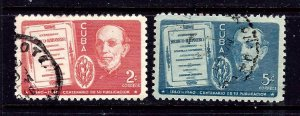 Cuba 364-65 Used 1940 set