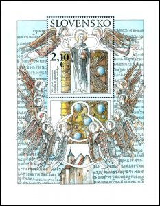 stamps Slovakia 2020. - 1150 years since the founding of Holy Method under the P