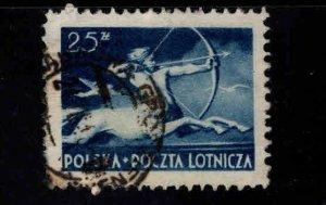 Poland Scott C22 Used stamp