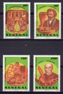 Senegal 1998 1314/1317  Abolition of Slavery 150th.Ann.Set (4) perforated MNH