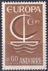 Andorra (Fr) #172  MNH CV $3.00 (Z9628)
