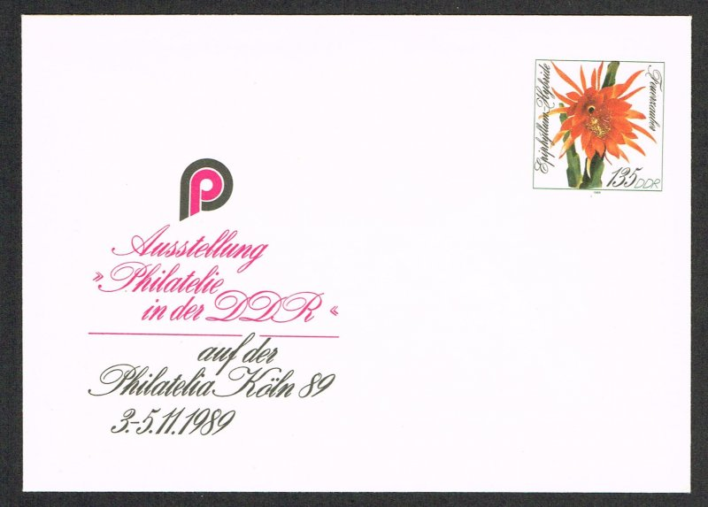 Germany DDR Postal Stationery Michel U10