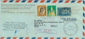 84324 -  VENEZUELA - POSTAL HISTORY - REGISTERED COVER to  MEXICO 1960
