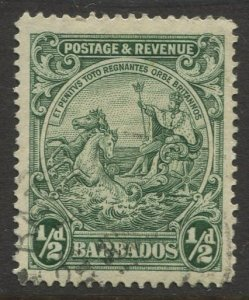 STAMP STATION PERTH Barbados #166 Seal Of The Colony Issue Used Wmk 4 -1925-34