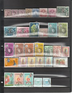 BAHRAIN *33 DIFFERENT USED 58/MR2a SEE DESCRIPTION AREA FOR LIST 2019 SCV $33.05