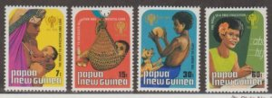 Papua New Guinea Scott #508-511 Stamps - Mint NH Set