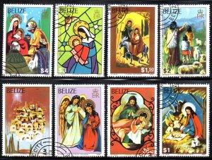 BELIZE 525-32 USED CTO SCV $17.40 BIN $7.00 RELIGION