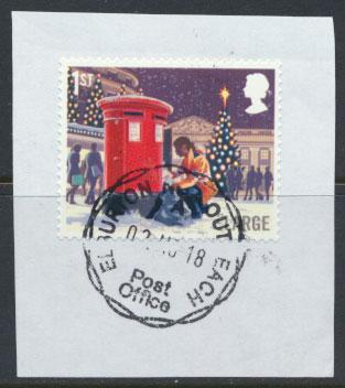 Great Britain Christmas 2018 1st  Large   see scan
