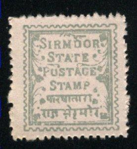 India - Sirmoor 2    Mint NH VF 1879 PD
