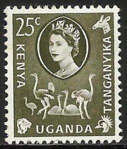Kenya, Uganda & Tanzania 1960 Scott# 124 MH
