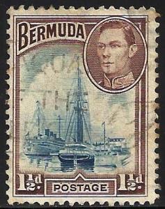 Bermuda 1943 Scott# 119a Used