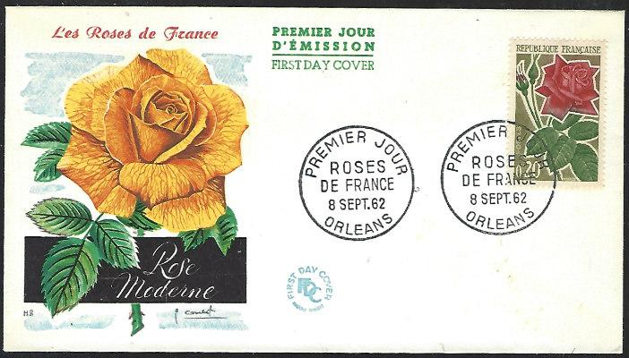 France #1044 Sept. 8, 1962 Orleans First Day Cover Unaddressed (FDC-2)