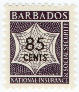 (I.B) Barbados Revenue : National Insurance & Social Security 85c (unlisted)