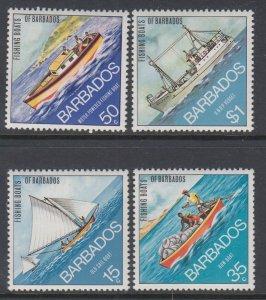 Barbados 392-395 MNH VF