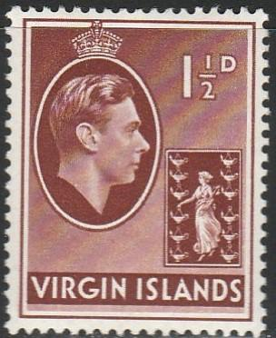 Virgin Islands, #78 MH From 1938-47