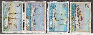 Tuvalu Scott #410-413 Stamps - Mint NH Set
