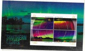 2014   AUSTRALIA  -  SG.  MS 4230  -  SOUTHERN LIGHTS  -  USED
