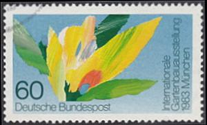 Germany # 1391 used ~ 60pf Horticultural Show